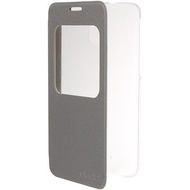 Чехол Alcatel Flip Case FC5056 Silver (для Alcatel POP 4 Plus OT5056)