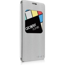 Чехол Alcatel Flip Case FC5095 Silver (для Alcatel POP 4S)