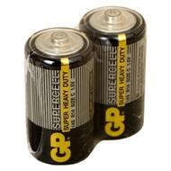 Батарейка GP 14S-0S2  (солевая, R14 (С), 2 шт., без блистера, 2/24/480, срок хранения 7 лет)