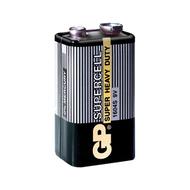 Батарейка GP 1604S-OS1 (солевая, 6LF22 (крона), 1 шт., без блистера, 1/10/500, срок хранения 7 лет)
