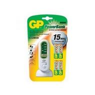 Зарядное устройство GP PB80GS270SA-U4 (сетевое/автомобильное, в комплекте 4xAA 2700 мАч, заряд 15 минут)
