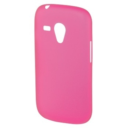 Футляр Hama Ultra Slim Pink (для Samsung Galaxy S III mini, ультра тонкий 0.4мм, пластик, H-91515)