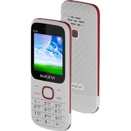 Maxvi C15 White Red