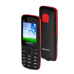 Maxvi C22 Black Red