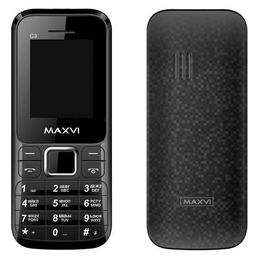 Maxvi C3 Black