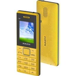 Maxvi C9 Yellow Black