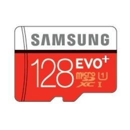 MicroSDXC 128Гб Samsung EVO Plus Класс 10 UHS-I (адаптер)