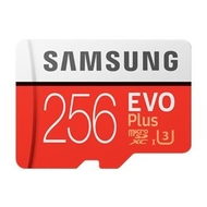 MicroSDXC 256Гб Samsung EVO Plus Класс 10 UHS-I U3 (адаптер)
