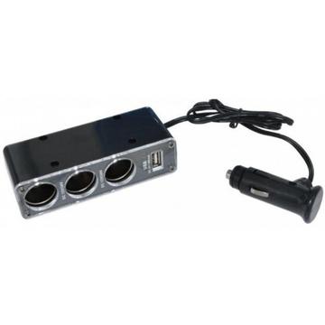 АЗУ Stealth CH-312 (USB, 500mA, разветвитель гнезда прикуривателя)
