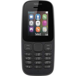 Nokia 105 2017 Dual Black
