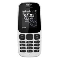 Nokia 105 2017 Dual White