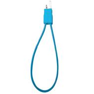 Кабель PQI i-Cable Flat 20 Blue (USB-Lightning, 20см., плоский, с замком)