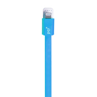 Кабель PQI i-Cable Flat 90 Blue (USB-Lightning, 90см., плоский)