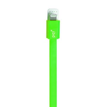 Кабель PQI i-Cable Flat 90 Green (USB-Lightning, 90см., плоский)