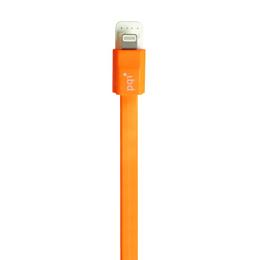 Кабель PQI i-Cable Flat 90 Orange (USB-Lightning, 90см., плоский)
