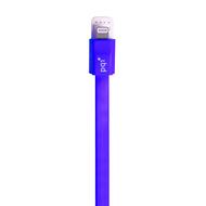 Кабель PQI i-Cable Flat 90 Purple (USB-Lightning, 90см., плоский)