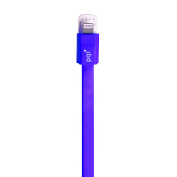Кабель PQI i-Cable Flat 90 Purple (USB-Lightning, 90см., плоский)