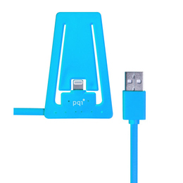 Докстанция PQI i-Cable Stand with Lightning Blue