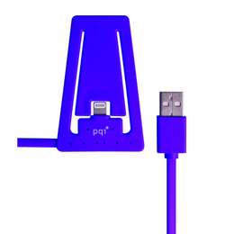 Докстанция PQI i-Cable Stand with Lightning Purple