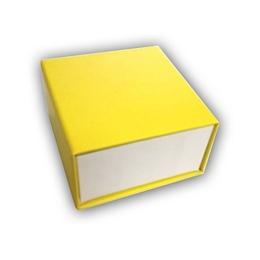 Коробка Present Paper DP1101 Yellow (картон, на магните, 65х60х40мм)