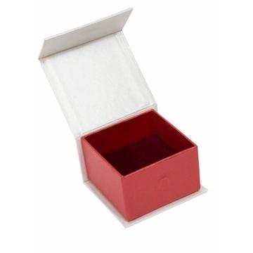 Коробка Present Paper FB1101 Cream Red (картон, на магните, 65х60х40мм)
