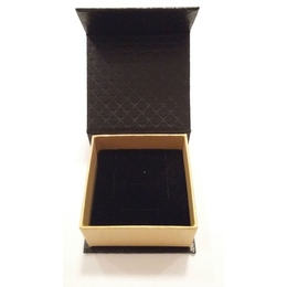Коробка Present Paper FB1105 Black Gold (картон, на магните, 65х63х35мм)