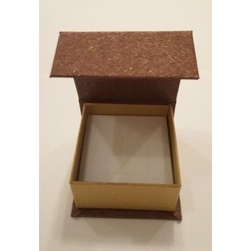 Коробка Present Paper FB1105 Brown Gold (картон, на магните, 65х63х35мм)
