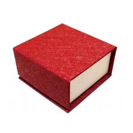 Коробка Present Paper FB1105 Red Perl (картон, на магните, 65х63х35мм)