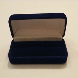 Коробка Present Velvet FU-55 Blue (бархатная, картон/ткань, 77х39х28мм)