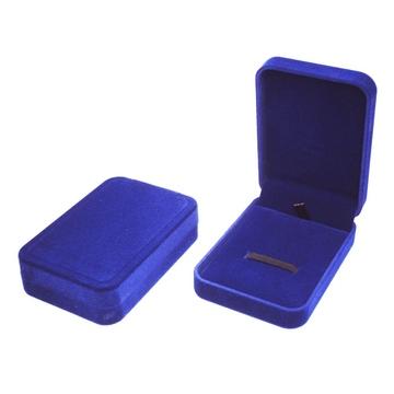 Коробка Present Velvet Blue (бархатная, картон/ткань, 100x68x25mm)