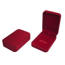 Коробка Present Velvet Red (бархатная, картон/ткань, 100х68х25мм)