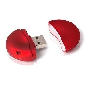 Накопитель под нанесение Present BR 8 GB Red
