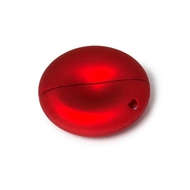 Накопитель под нанесение Present BR1 4Гб Soft Red