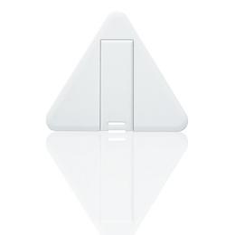 Накопитель под нанесение Present CO-CD-TRIANGLE 8 GB White