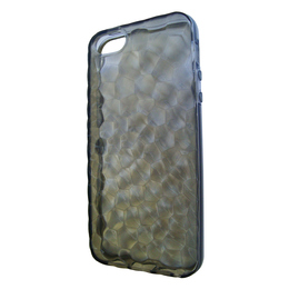 Футляр Present Black Relief (для iPhone 5, силикон, рельефный)
