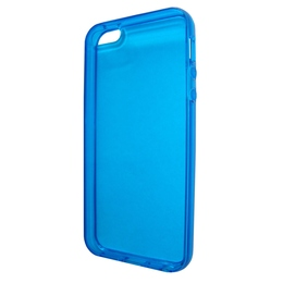 Футляр Present Blue Transparent (для iPhone 5, силикон)