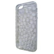 Футляр Present White Relief (для iPhone 5, силикон, рельефный)