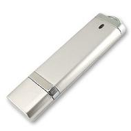 Накопитель под нанесение Present DG 512MB Silver