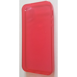 Футляр Present DT2 Red Glossy Transparent (для iPhone 5, силикон)
