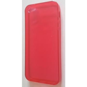 Футляр Present DT2 Red Glossy Transparent (для iPhone 5, силикон)