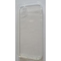 Футляр Present DT2 White Glossy Transparent (для iPhone 5, силикон)