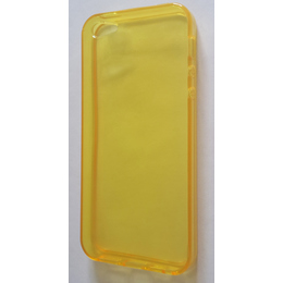 Футляр Present DT2 Yellow Glossy Transparent (для iPhone 5, силикон)
