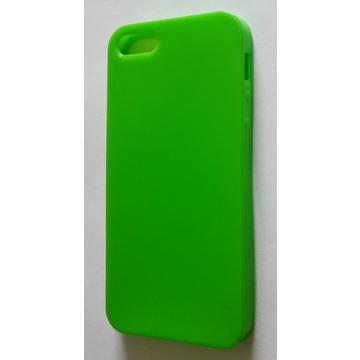 Футляр Present DT3 Green Glossy Matt (для iPhone 5, силикон)