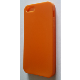 Футляр Present DT3 Orange Glossy Matt (для iPhone 5, силикон)