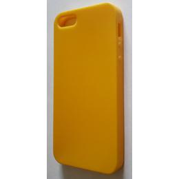Футляр Present DT3 Yellow Glossy Matt (для iPhone 5, силикон)