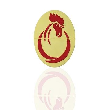 Индивидуальная флешка яйцо с изображением петуха 32gb
