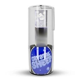 Оригинальная подарочная флешка Present G100 32GB Sheep Blue LED (стекло/металл, синий светодиод, в блистере)