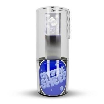 Оригинальная подарочная флешка Present G100 08GB Sheep Blue LED (стекло/металл, синий светодиод, в блистере)