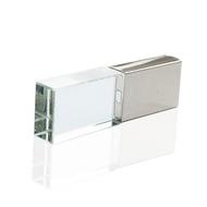 Накопитель под нанесение Present G140 16 gb Silver Glosy Cap