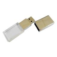 Накопитель под нанесение Present G140 16 gb White LED
